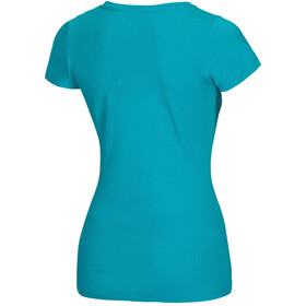 Ocun Blooms T-Shirt Women Baltic Blue